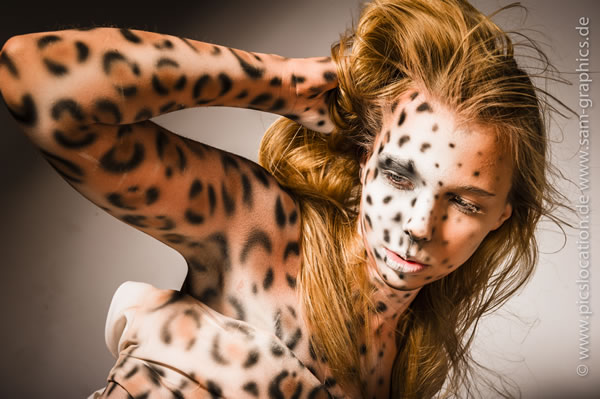 Bodypainting - The Lion