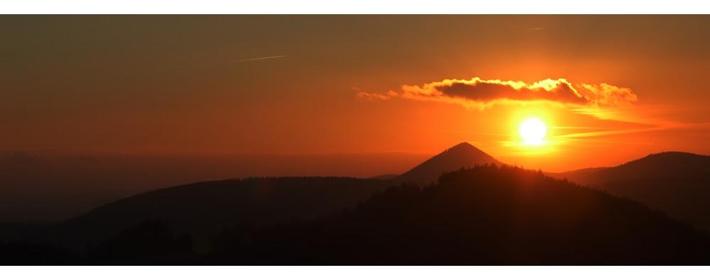 Böhmischer Sonnenuntergang