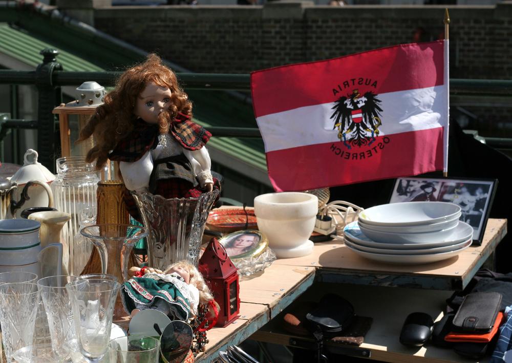 Böiger Westwind in Österreich