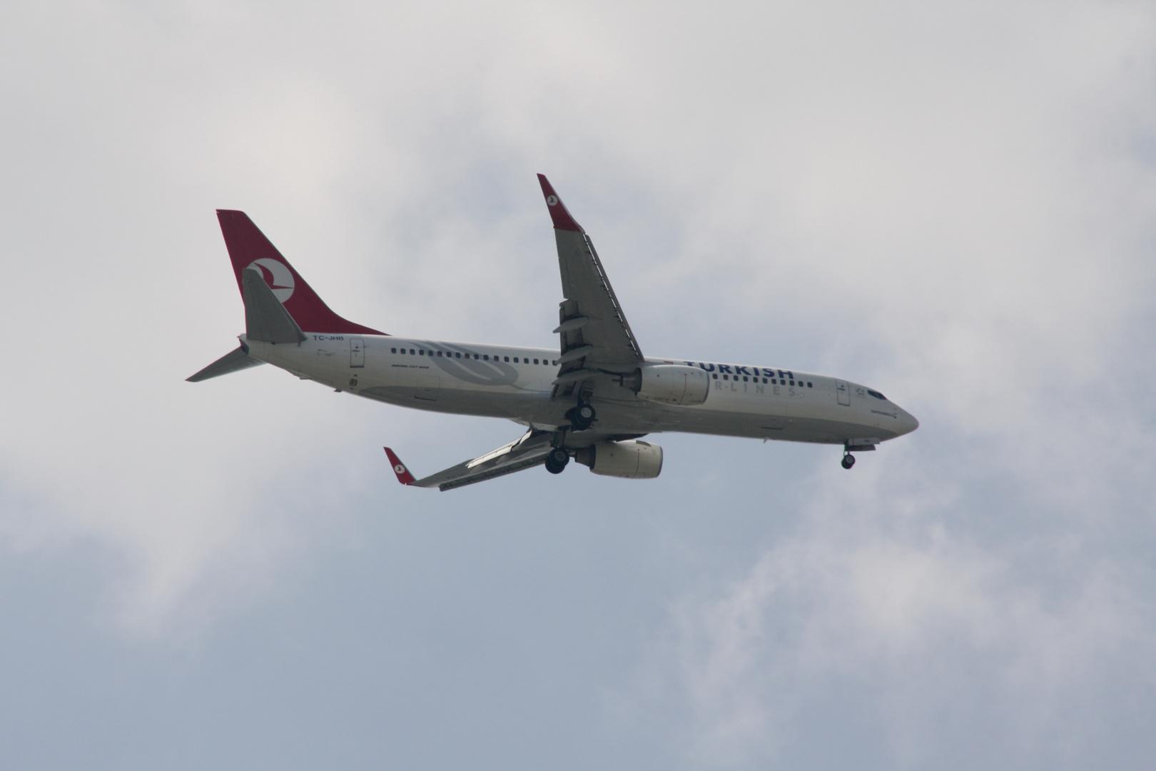 Boeing 737 - Ab in den Urlaub (letztes Jahr)