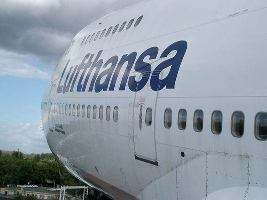 Boeing 747-200 beim Landeanflug !?