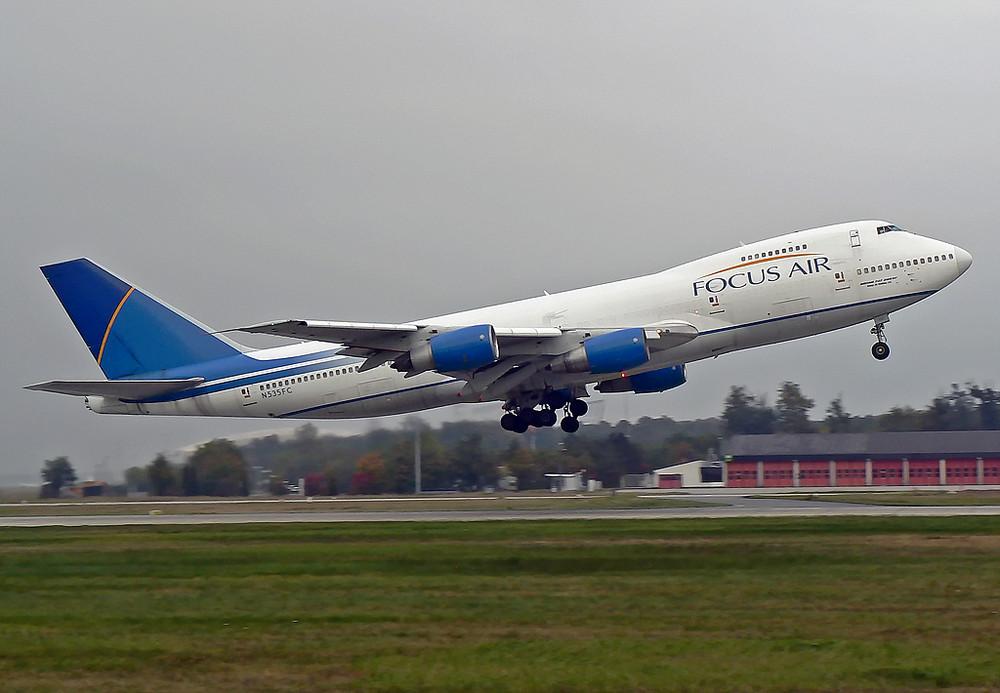 Boeing 747-2F6B , Focus Air N535FC