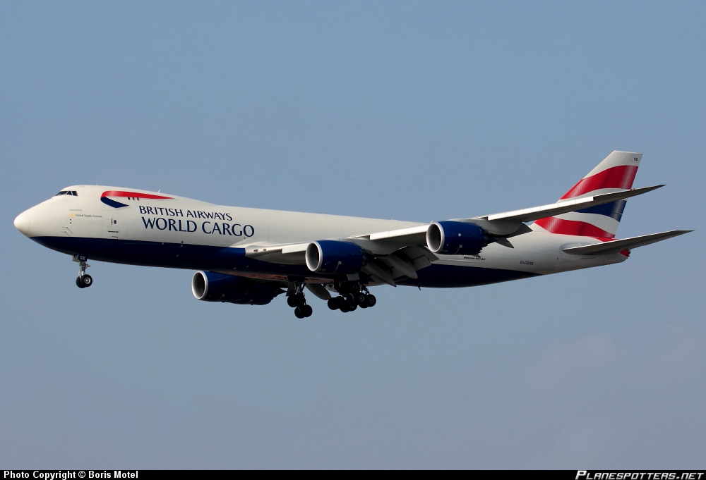 Boeing 747-87UF BA World Cargo Global Supply Systems