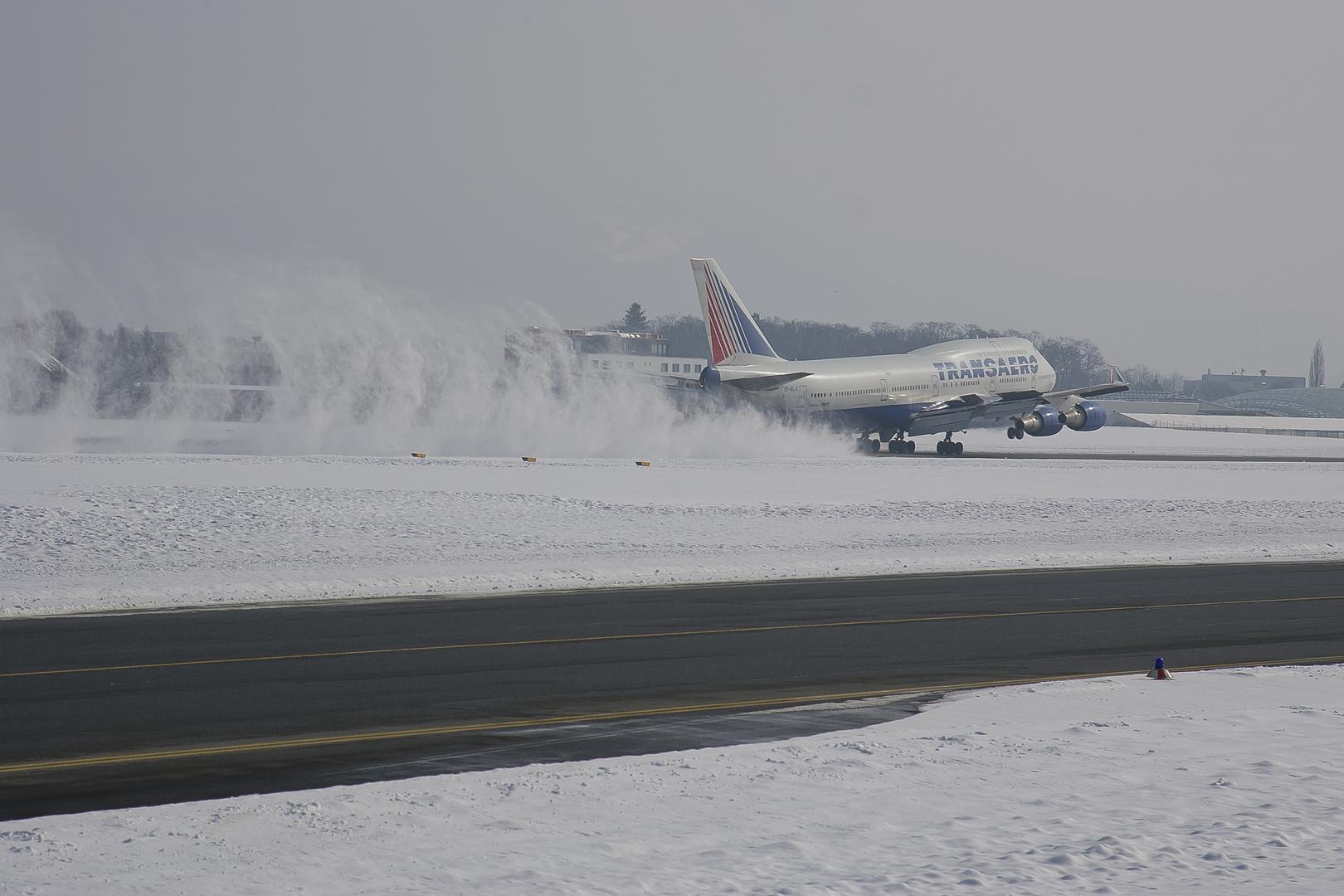 Boeing 747 Transaero Airlines...