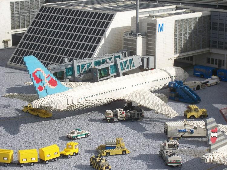 Boeing 767 im LEGOland