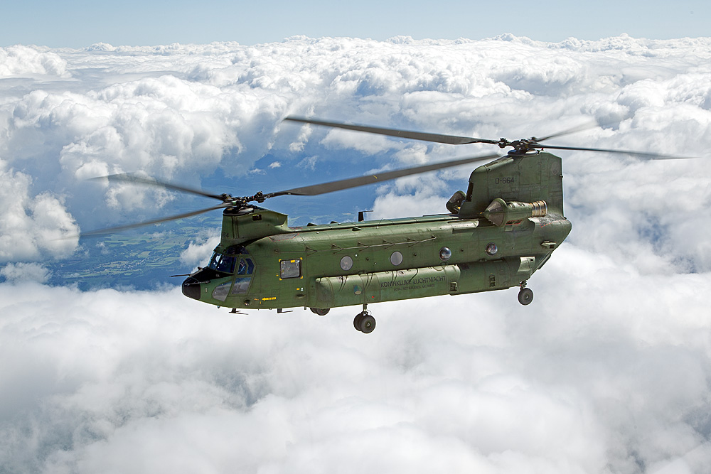 """Boeing CH-47 """"Chinook"""" - Royal Netherlands Air Force I"""