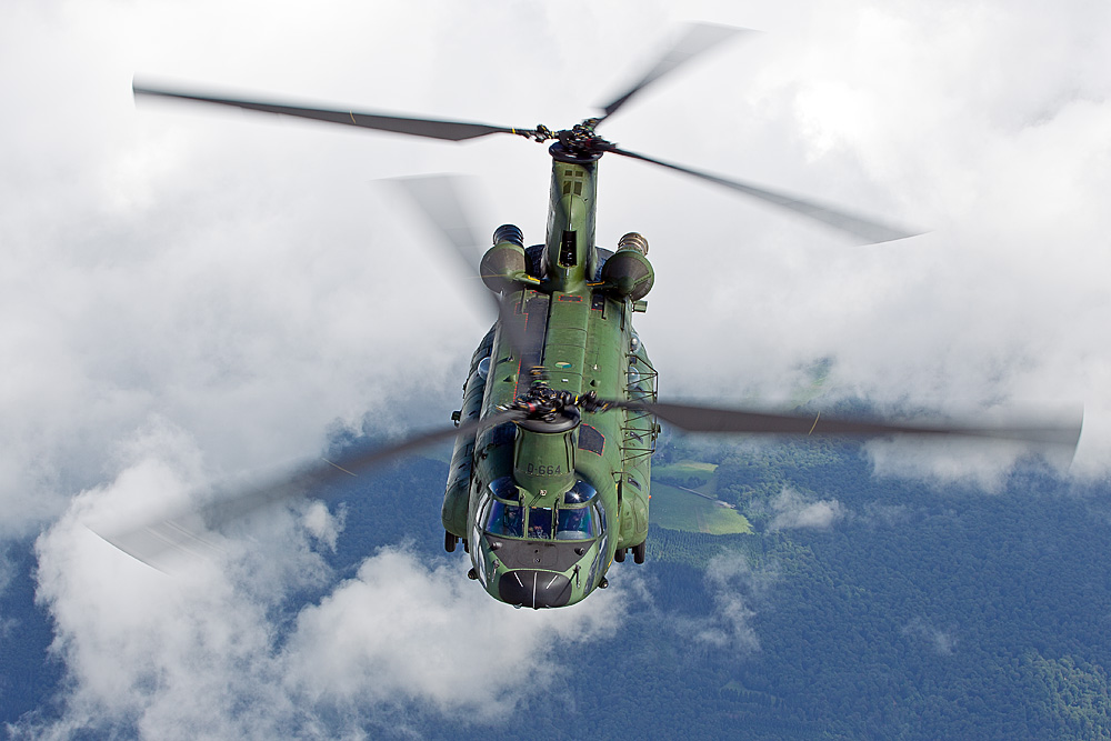 """Boeing CH-47 """"Chinook"""" - Royal Netherlands Air Force II"""