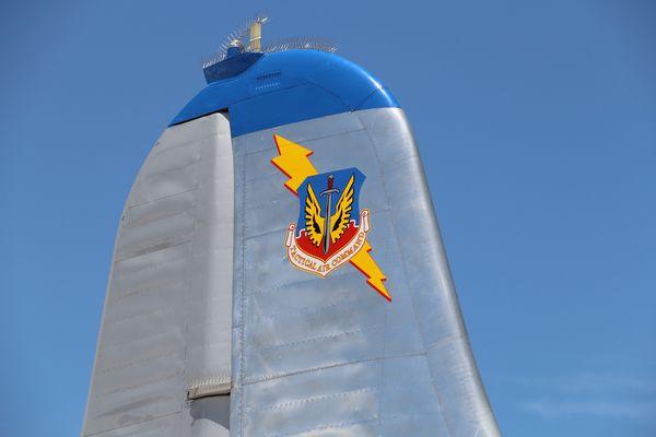 BOEING KB-50J SUPERFORTRESS RUDDER