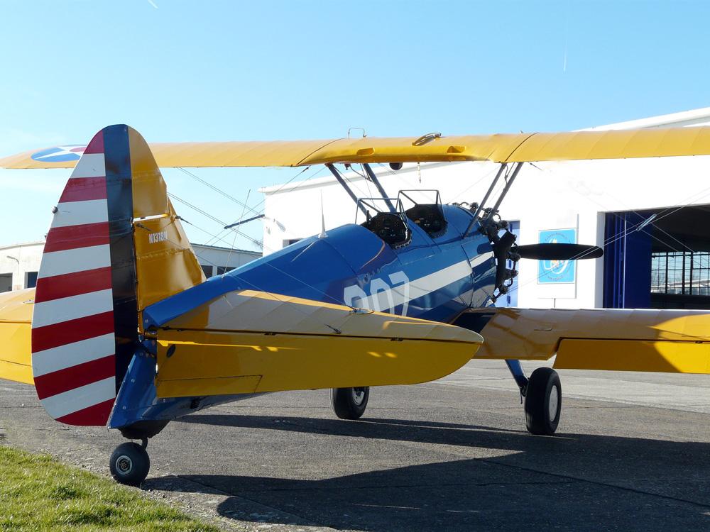 Boeing Stearman PT 13D N1318N