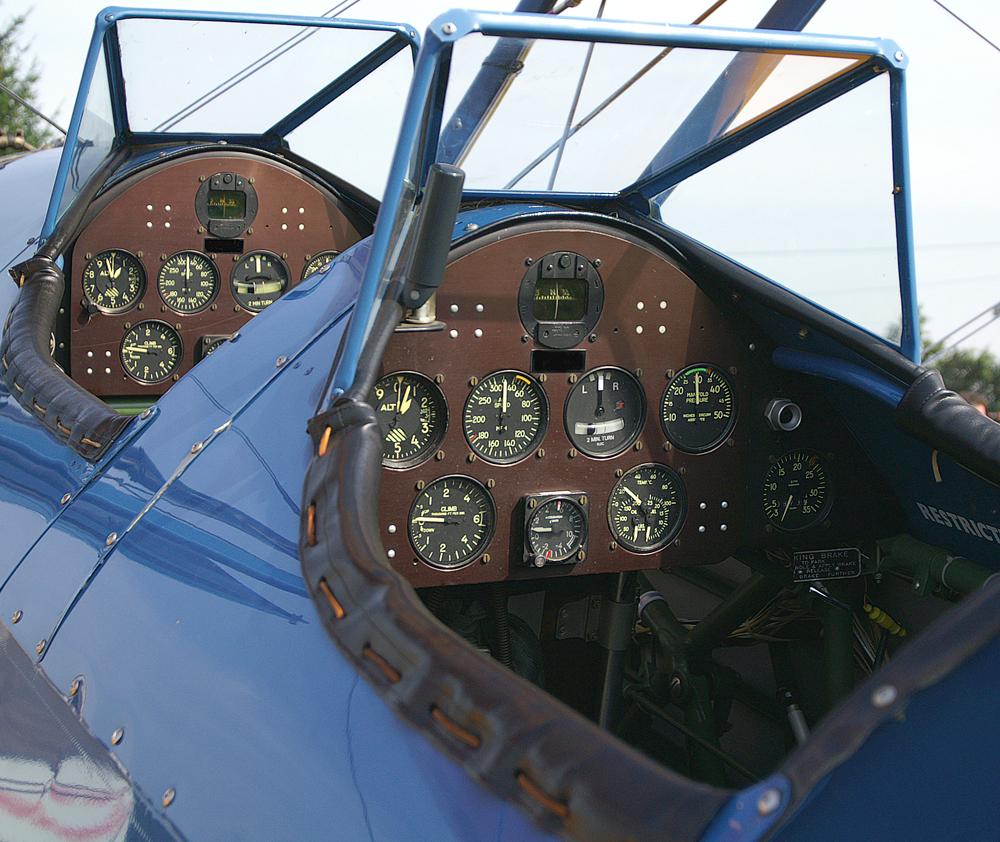 Boeing Stearman 'Uhrenladen'