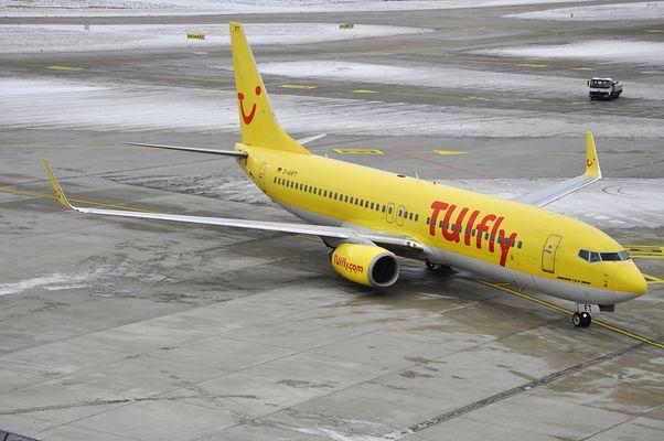 Boeing737-800 Tuifly am 20.01.2013