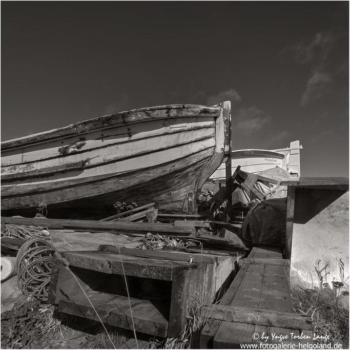 Boerteboot im Winterquartier