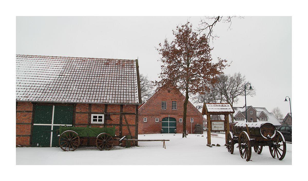 Bösel im Winter - Heimathaus 2