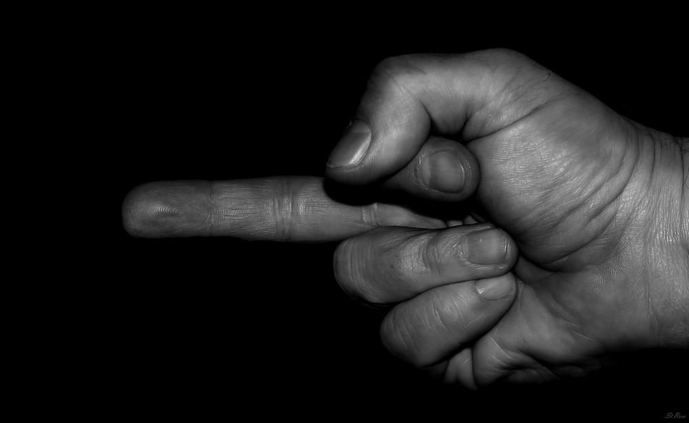 Böser Finger