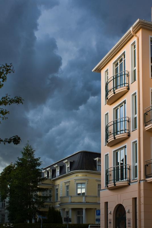 Böses Wetter