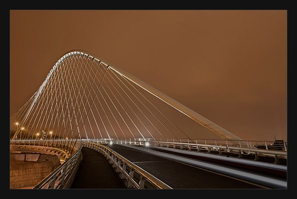 Bogenbrücke von Santiago Calatrava