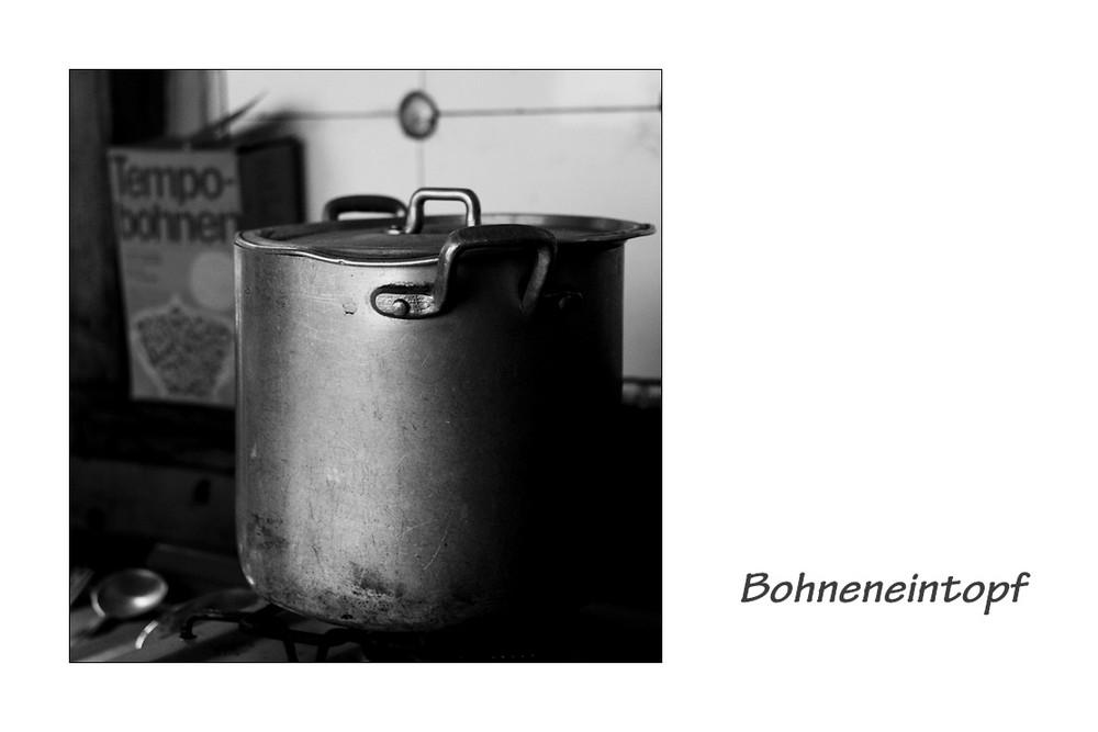 Bohneneintopf altdeutsche Art