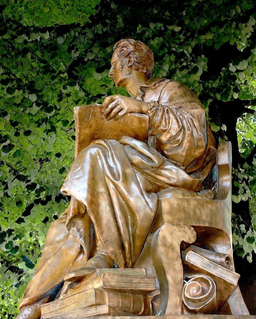 Boieldieu, compositeur, par David d'Angers 1839 ROUEN