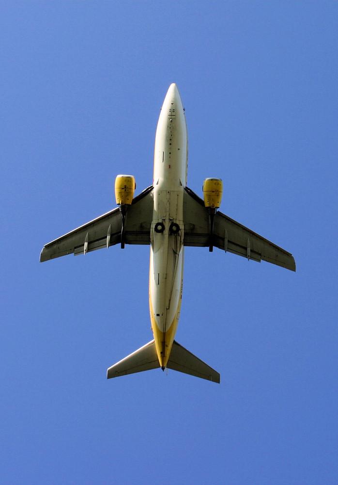 Boing 737 beim Start