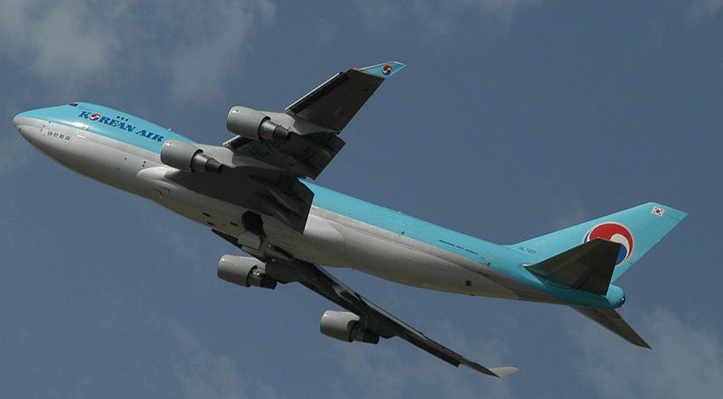 Boing-747 Korean-Air