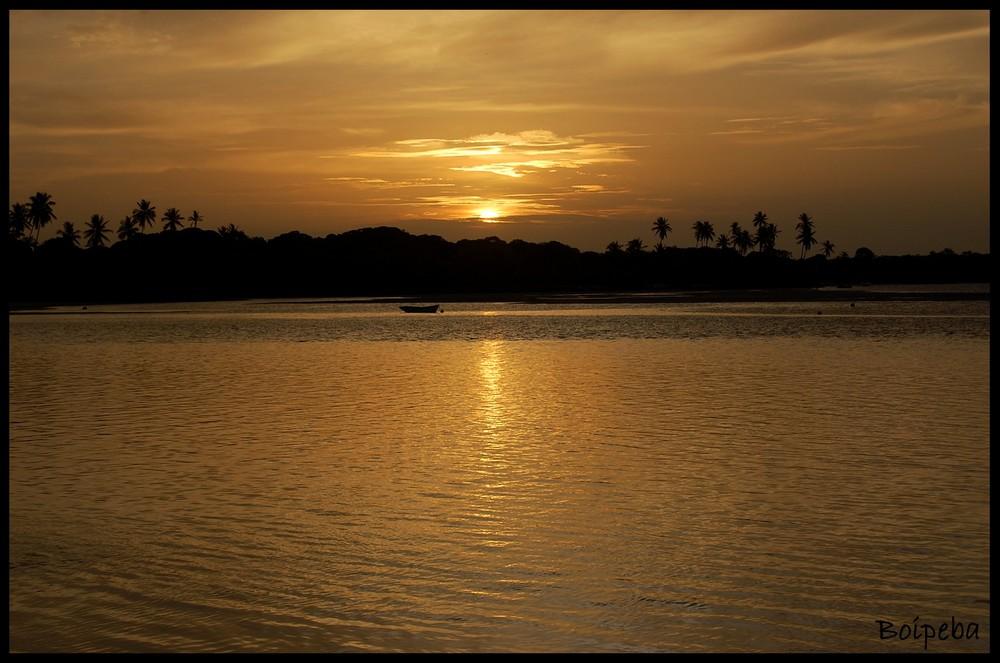 Boipeba, sunset - Brazil