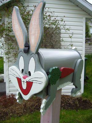 Boite aux lettres lapin