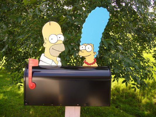 Boite aux lettres Les Simpson