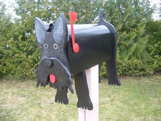 Boite aux lettres Scottish terrier