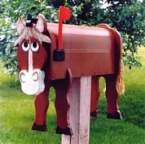 Boites aux lettres cheval