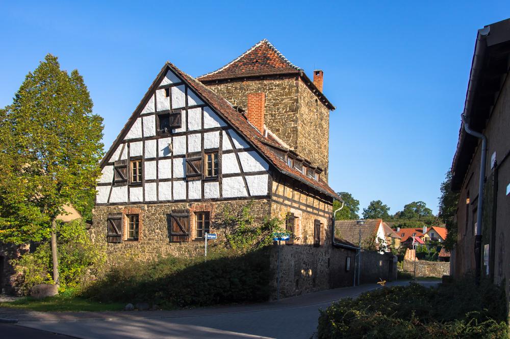 Boitzturm und -hof