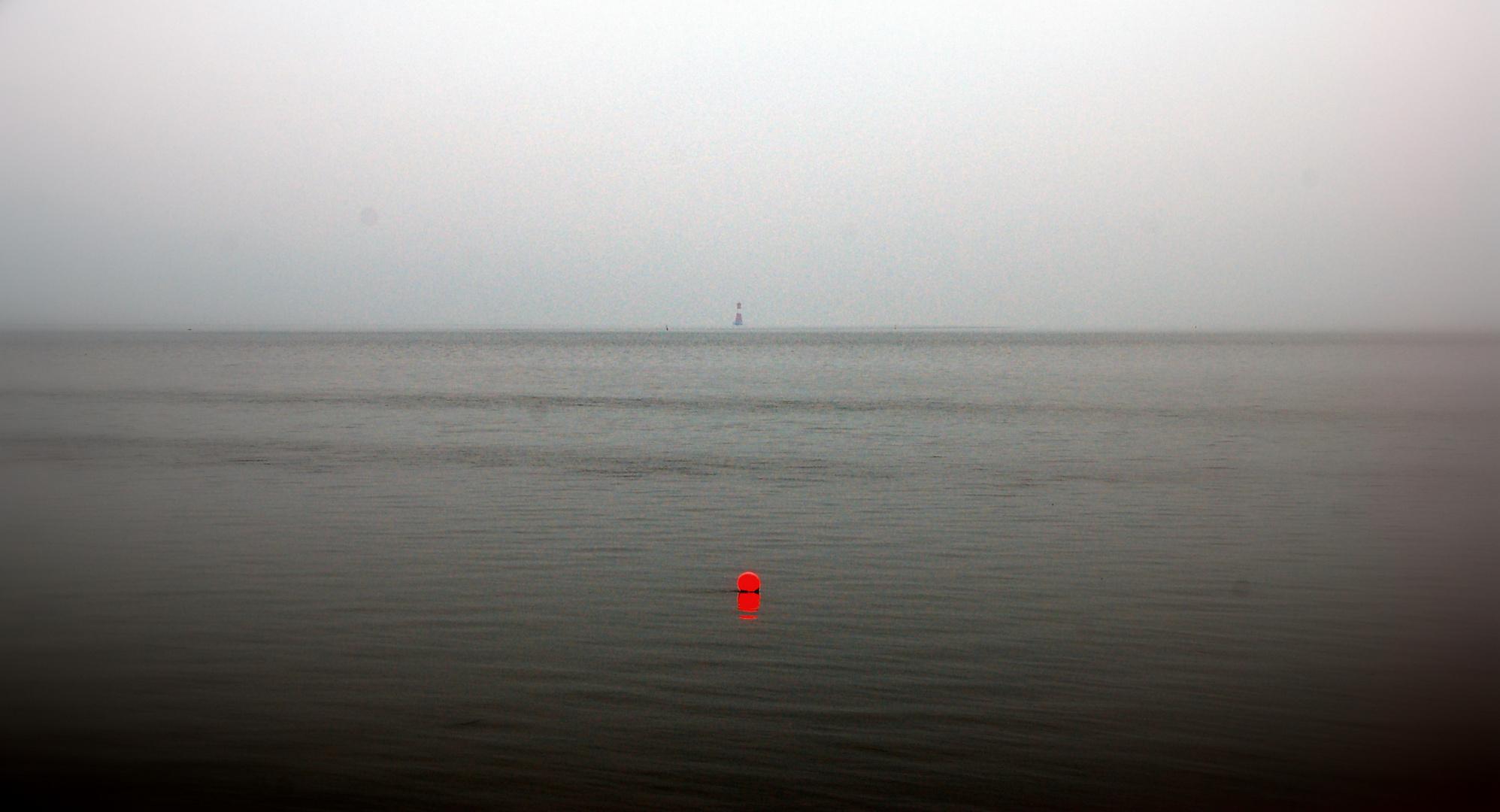 Boje und Leuchtturm