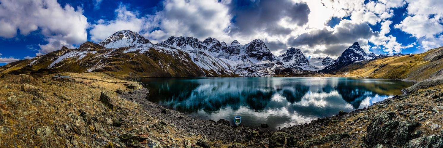 Bolivia - Laguna Chiar Khota - Condoriri #1