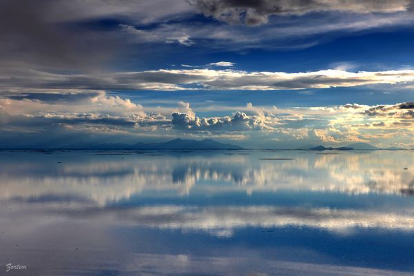 BOLIVIA - Salar inondé