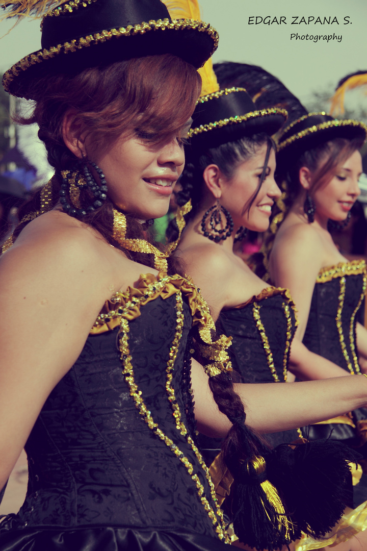 Bolivian dance