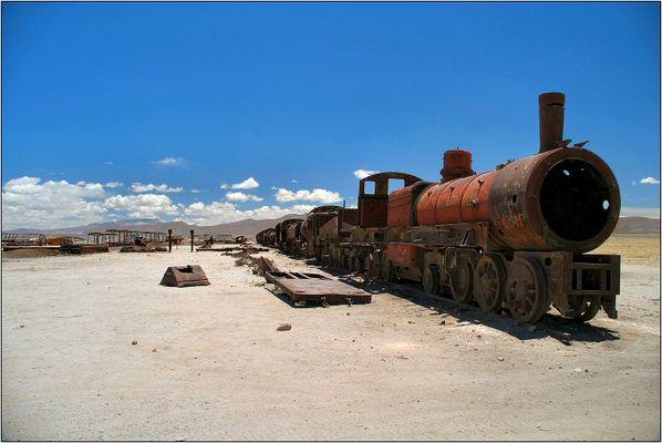 Bolivien, Uyuni - Friedhof der Züge