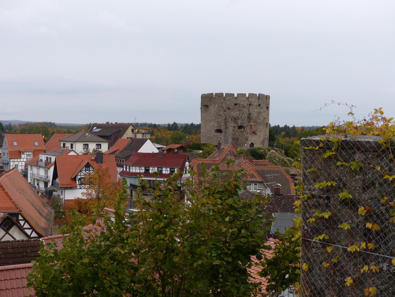 Bollwerk (Blick vom Schloss)