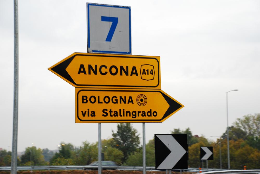 Bologna auf Umwegen