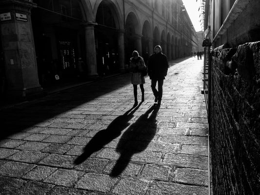 Bologna shadows