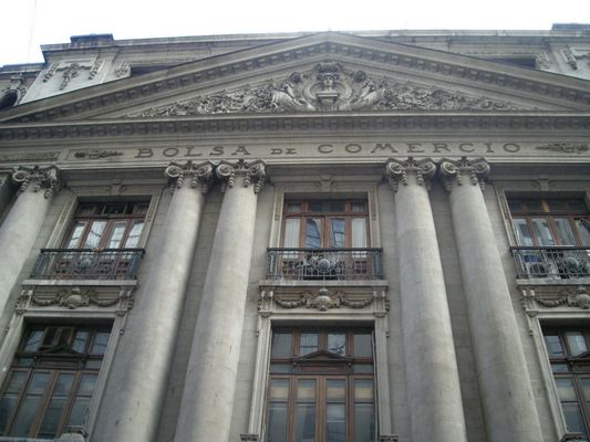 Bolsa de Comercio building