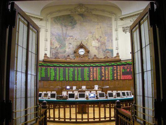 Bolsa de Comercio de Santiago (interior)