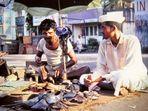 Bombay 1977 - Schuster auf der Straße