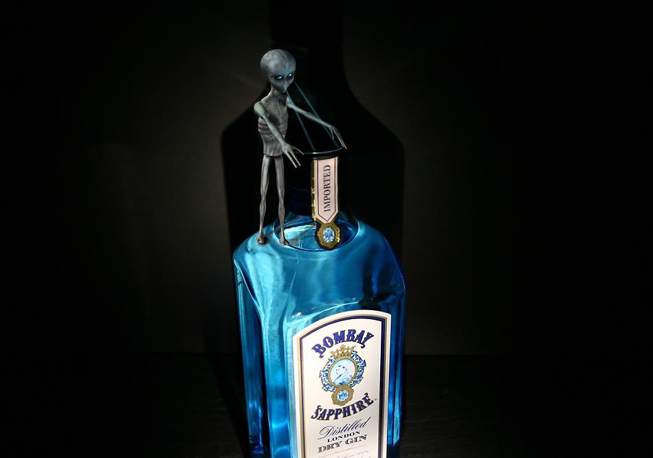 Bombay Sapphire Spirit of alien nature