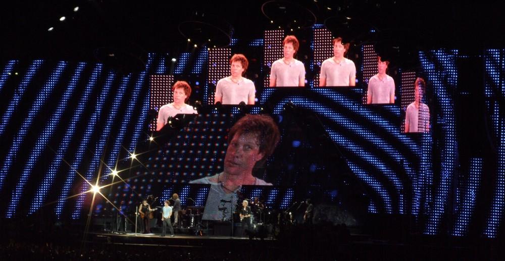 Bon Jovi's concert