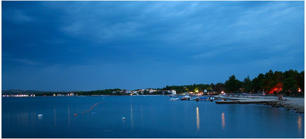 Bonaca auf der Insel VIR