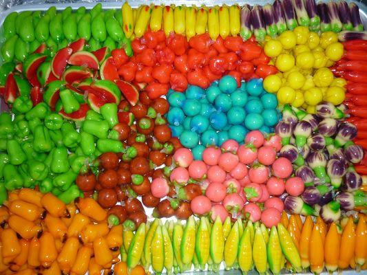 Bonbons fruit