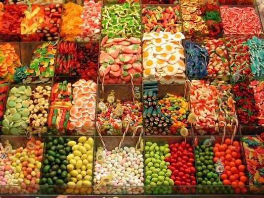 Bonbons Markt in Barcelona