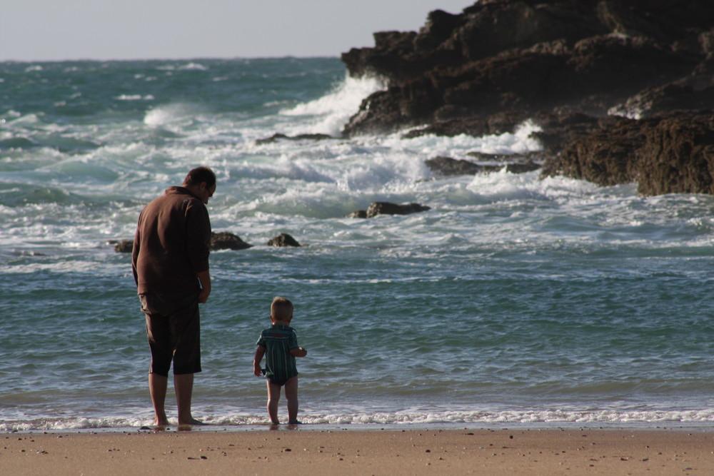 Bonheur sur la plage