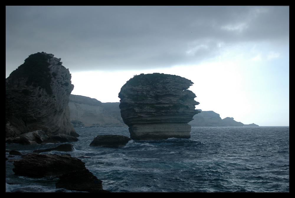 Bonifaccio's cliffs
