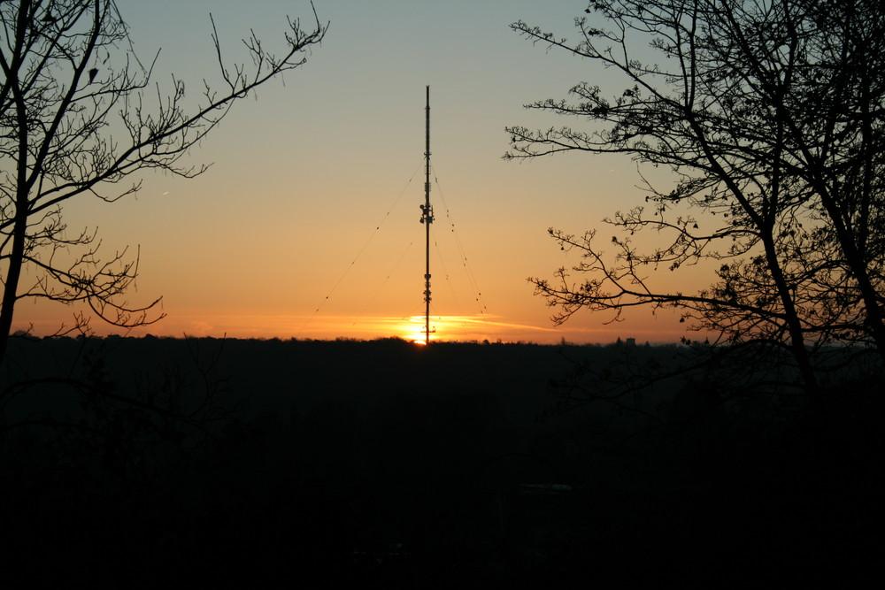 Bonn-Kreuzberg; ein Sonnenaufgang