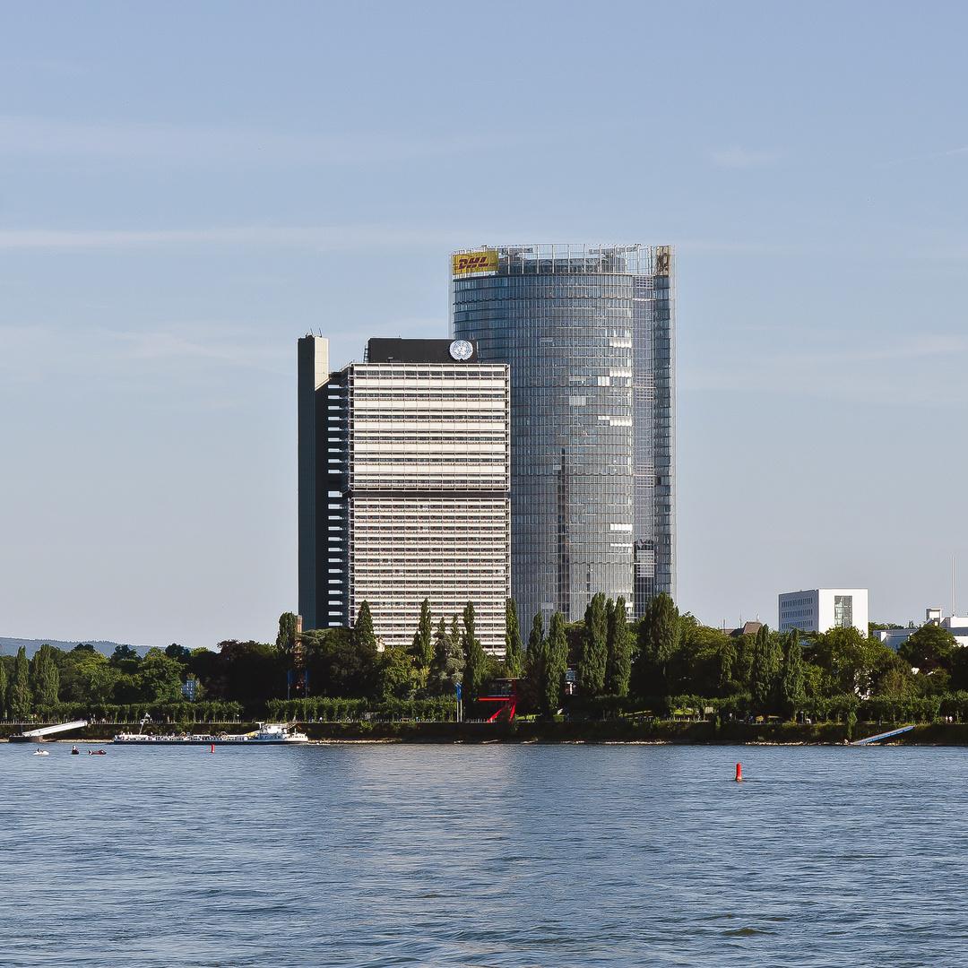 Bonn - Langer Eugen und Post-Tower